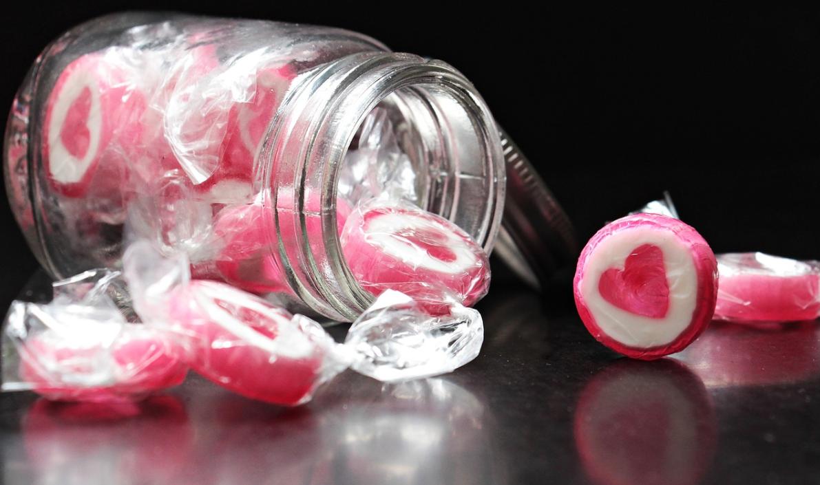 chutné cukrovinky