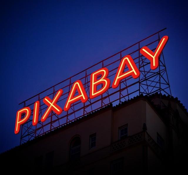 nápis pixabay