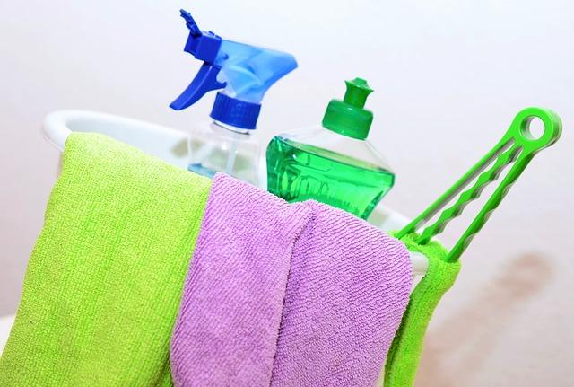 čistící prostředky