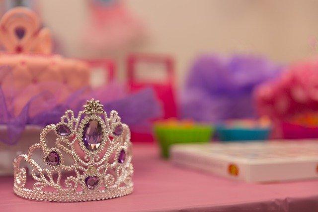 Dětská korunka pro princeznu