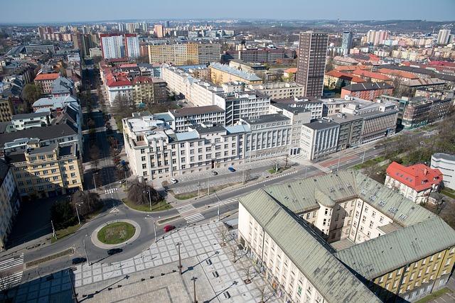 Ostrava, vyhlídka