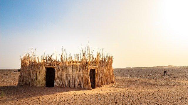 obydlí v poušti