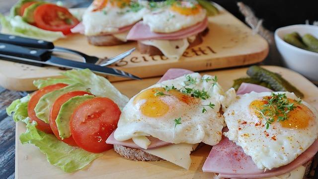 proteinové jídlo