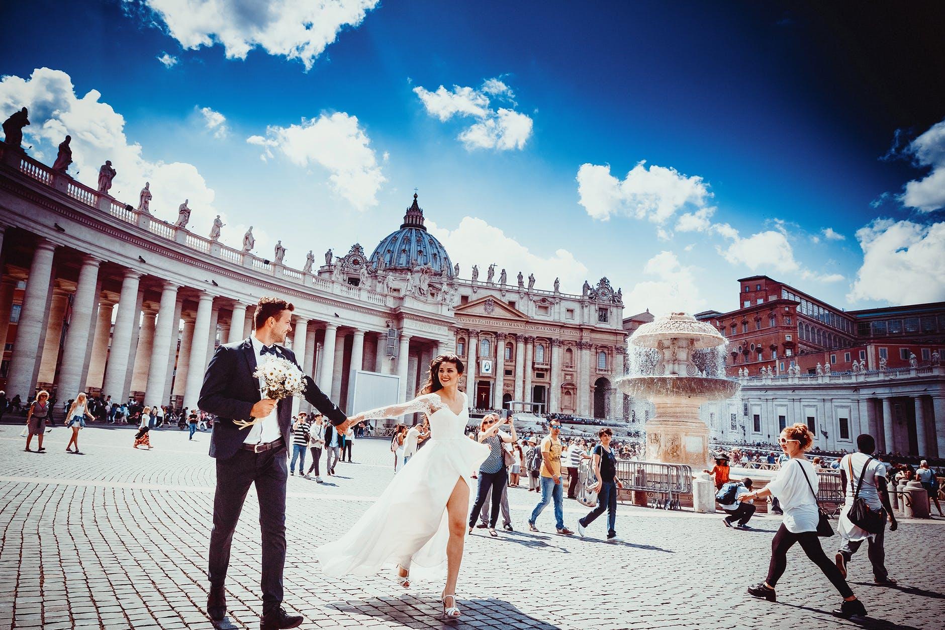 italští novomanželé